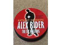 Alex Rider by Anthony Horowitz Audiobooks