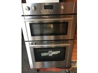 Fanned Electric Built-In Double Oven - Stainless Steel