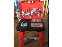 Children's toy tool workbench