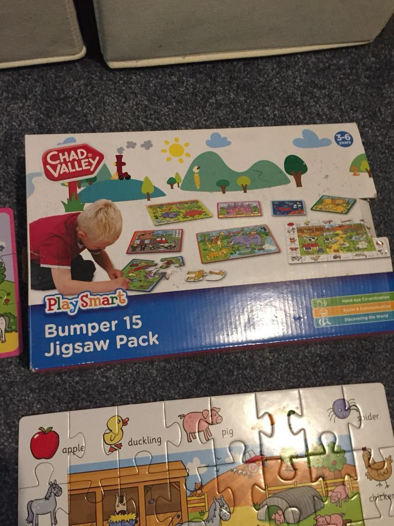 Chad Valley Kids Jigsaw Pack