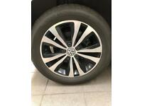 VW GOLF ALLOY WHEEL AND TYRE TORONTO mk7