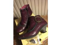 Fly Ankle Boots Size 6