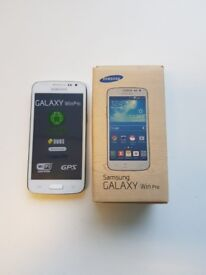 SAMSUNG GALAXY WIN PRO DUAL SIM - UNLOCKED   COMES BOXED WITH ALL ACCESSORIES - REFURBISHED