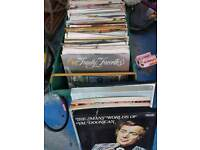 Old lp's 2 boxes full