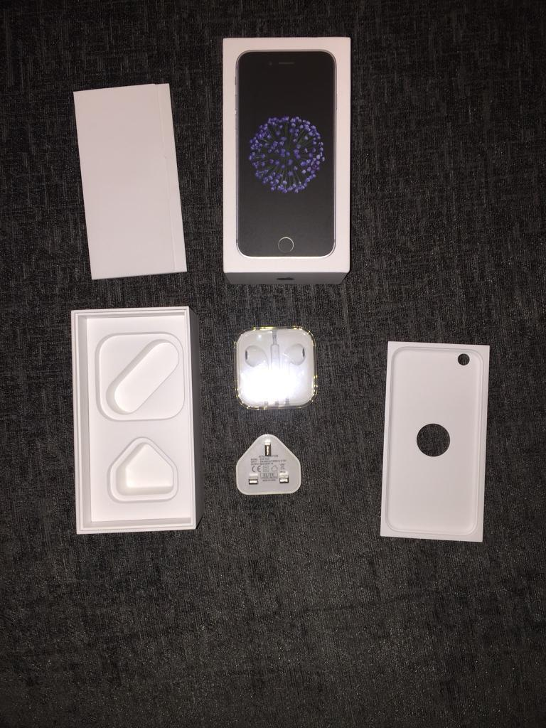 iPhone 6 box with accessories