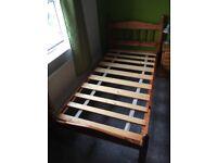 Single Bed Frame, solid pine