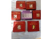 Collection of 7 CD box sets, artists from the 1930s and 1940s, £1 each or £5 for all
