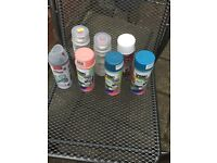 Floristry spray paint