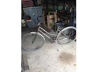 Ladies Retro Raleigh bike