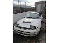 White Toyota Celica UK WideBody ST185 GT4 91 + CS Bonnet and Bumper