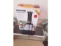 Salter Fruit/Food Mixer in brand new condition