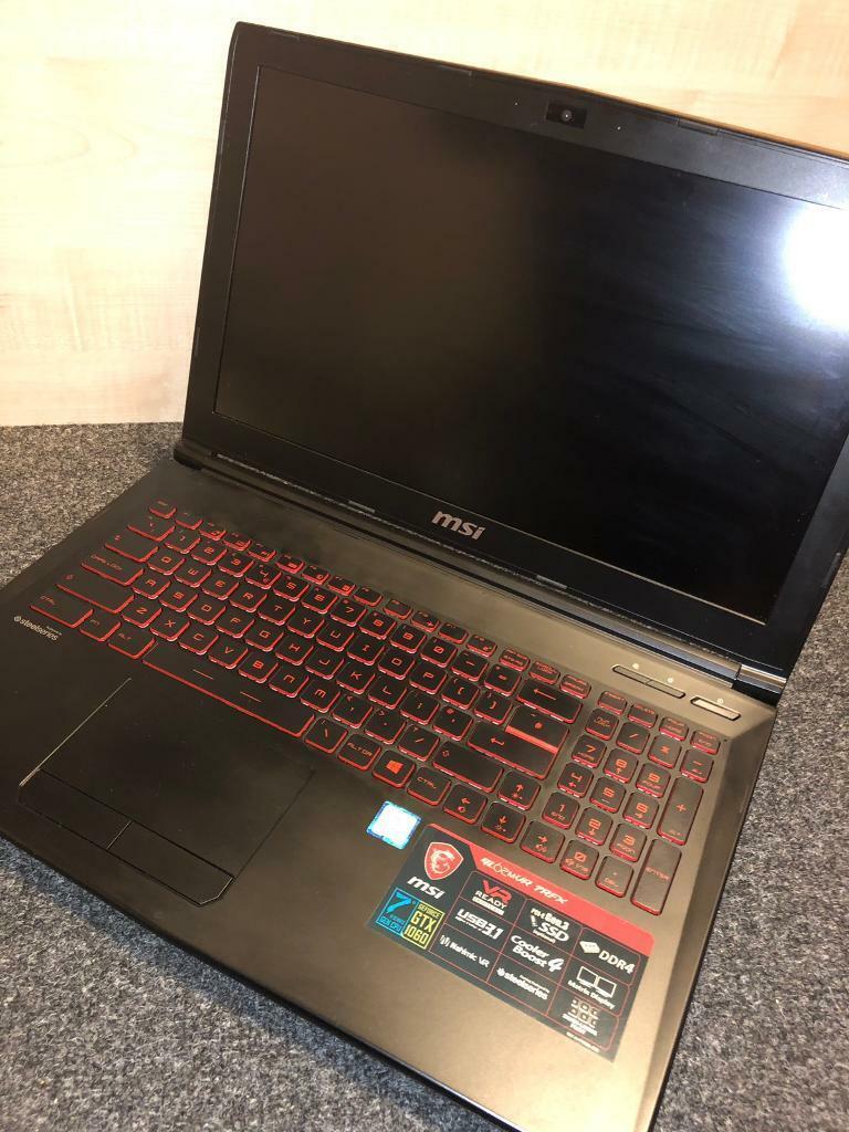 Gaming Laptop MSI GTX 1060 3GB | in Kingston, London | Gumtree