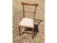 Child's wooden chair