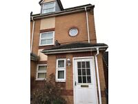4BED COMPACT TOWN HOUSE, £850PM/£500 DEPOSIT, HAMILTON LE5 1BH, SUIT SMALL WORKING FAMILY. DHSS CON