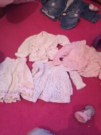 Tiny baby clothes girls