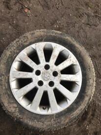 Vauxhall alloy