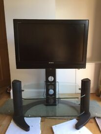 32' Sony Bravia HD TV with stand