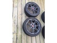 Honda Civic ep3 Type r alloy wheels x4 with tyres