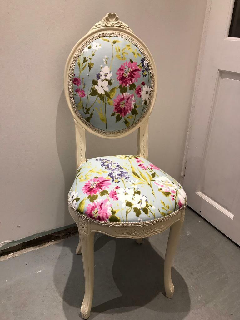 Lovely French Louis style chair dressing table bedroom
