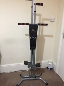 Adjustable Maxi Climber Home Vertical Climbing Exercise Fitness Workout Machine