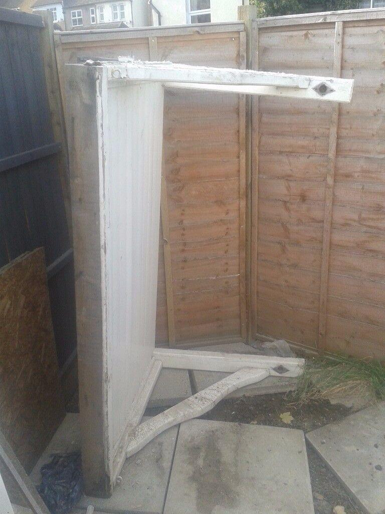 Front or Rear Door Canopy Porch Wooden Heavy Duty