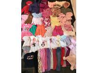 huge 2-3 bundle girls clothes toddler summer winter