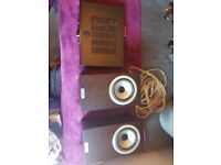 Complete HiFi (Tannoy DC6 SE, Cambridge Audio 351a and matching subwoofer) - MINT CONDITION
