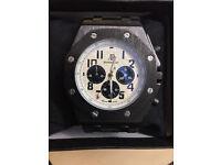 Audemar Piguet (AP), Automatic, Chronograph Watch, Rubber Strap & Boxed