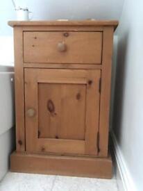 Small pine cupboard