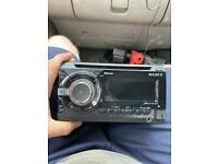 Sony double din car stereo
