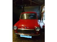 1991 Rover Mini, perfect as weekend car or daily driver