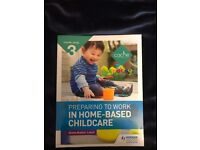 Cache Level 3 Preparing to work in home based childcare book