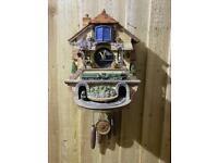 Vintage Flying Scotsman cuckoo clock