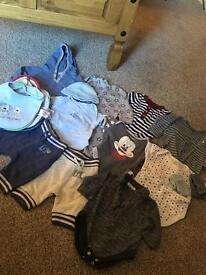 Baby Boys 0-3 Months Bundle!