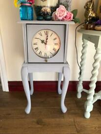 New Upcycled vintage clock planter cupboard