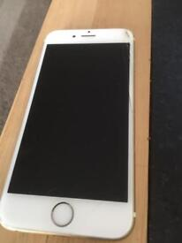 iPhone 6s in gold & white 16g