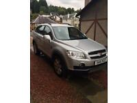 Chevrolet Captiva. 2L 7 seater diesel. Automatic