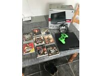 Boxed Charcoal black Sony PlayStation 3 Slimline 320gb