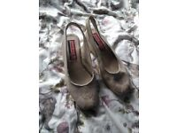 'Pierre Cardin' designer very soft leather shoes, size 4/5.