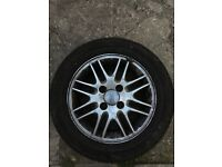 Ford Focus alloy wheels and tyres 15inch
