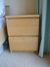 Chest of 2 drawers - Ikea Malm Range