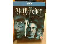 Harry Potter Box Set Blu-Ray NEW