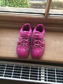 Childrens clarks trainers size 11.5