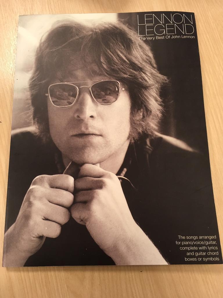 FOR SALE John Lennon chord book