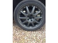Set of 4 18inch alloys,mint condition 5stud