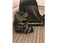 Ski boots and bag size 5