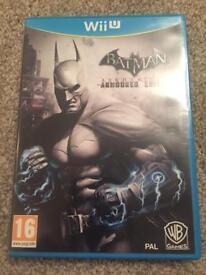 Wii U Batman Arkham City Armoured Edition