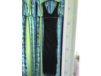 Black long dress size 8