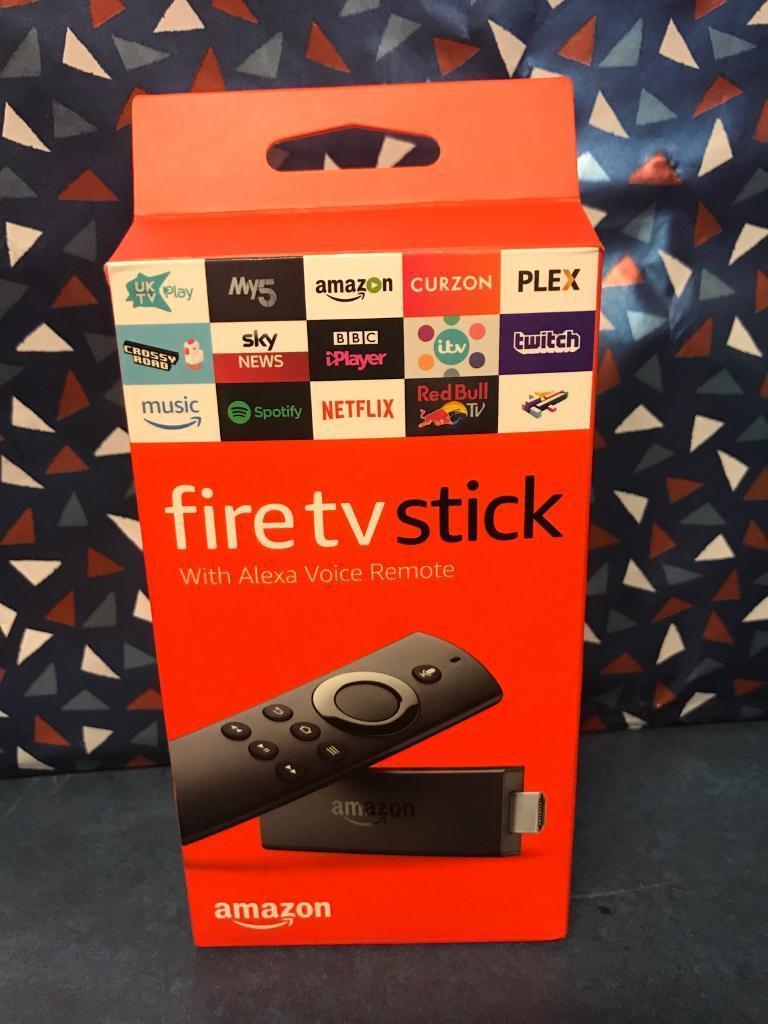 Fire TV Stick with Alexa voice remote   in Rutherglen, Glasgow   Gumtree