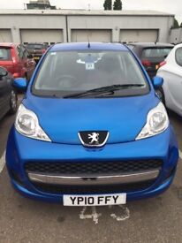Peugeot 107-Blue-New MOT